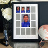 "School Years Photo Frame - 12 photo openings plus 6x4"" feature"
