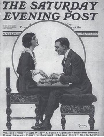 Fitzgerald in the Saturday Evening Post