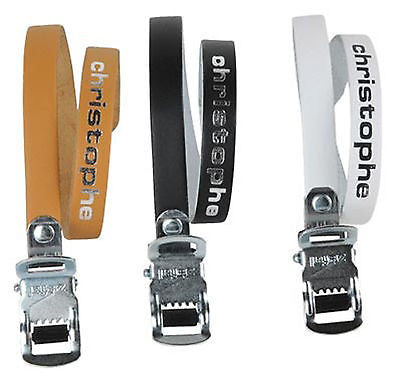 Christophe Leather Toe Straps - 3 colours available