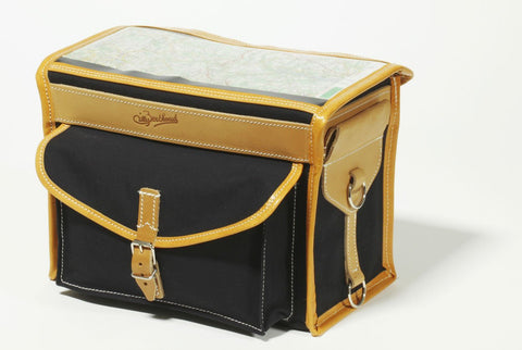 Gilles Berthoud Handlebar Bag GB192 Black