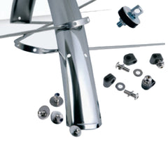 Gilles Berthoud Stainless Steel Mudguards - Type LONG