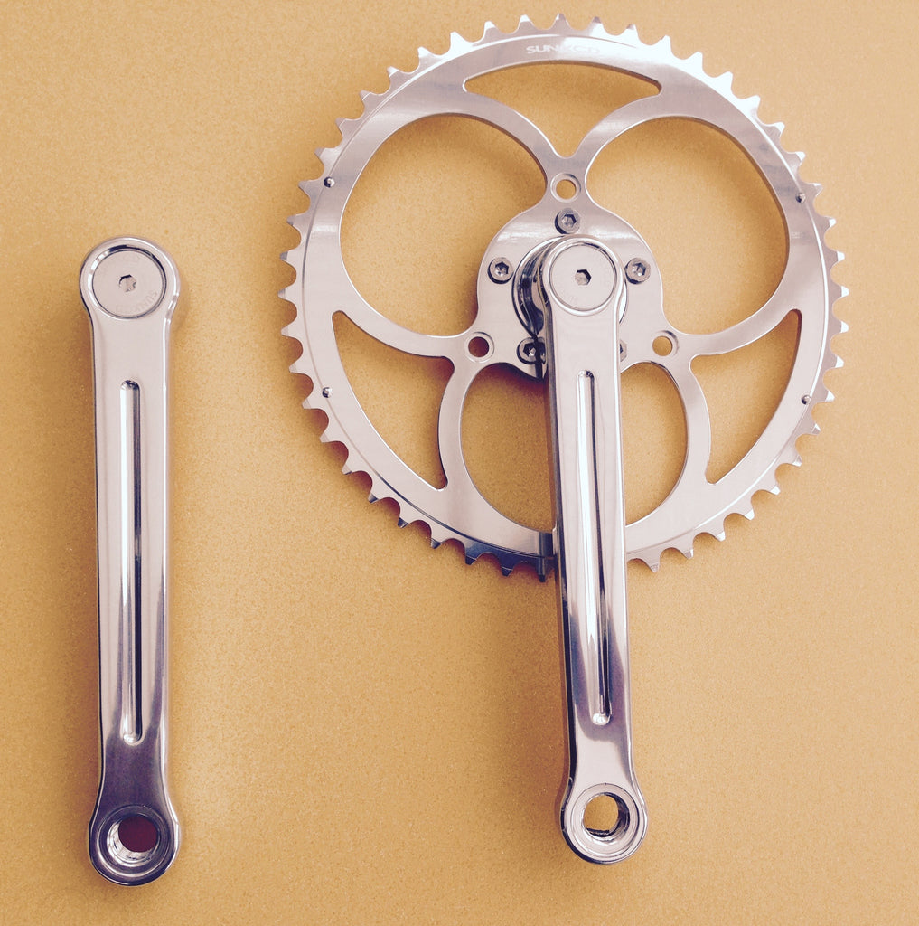 SunXCD Sun Exceed clover leaf chainset crankset René Herse chain rings