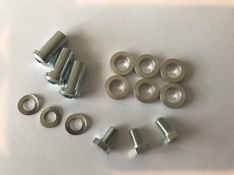 Triple chainring bolts for SunXCD Chain rings