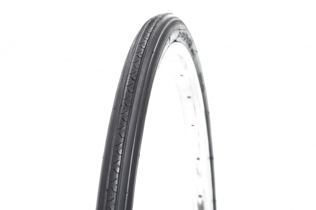 700C x 25mm Tyres Black Wall