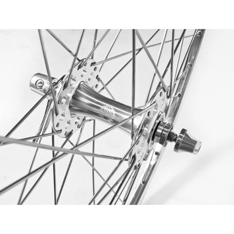 Velo Orange Enterprise 700C Wheelset 36  holes 130mm OLN