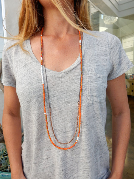 BOHO NECKLACES - Ocean Blues