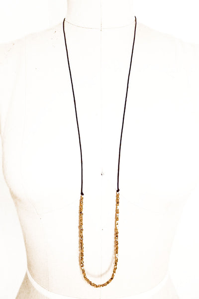 JO NECKLACE - Gold