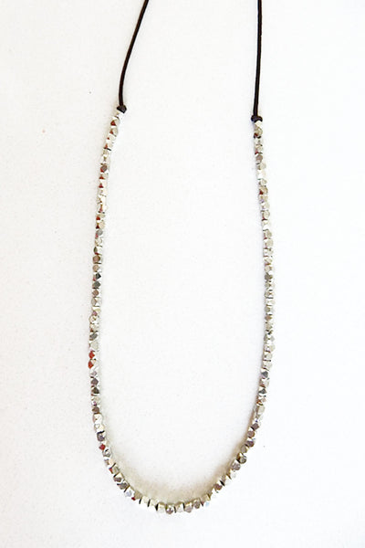 JO NECKLACE - Silver