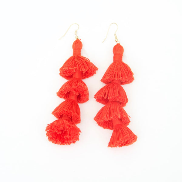 THE TASSEL EARRING