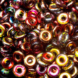 5 Grams Magic Wine O-Bead Czech seed beads, 1 x 4mm