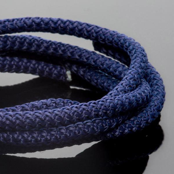 5 Feet 5mm Braided Nylon climbing cord cotton core, Royal Blue