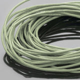 10 Feet 0.5mm Premium Leather Cord, Thai Celadon