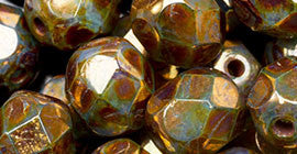 Czech Faceted & Firepolished