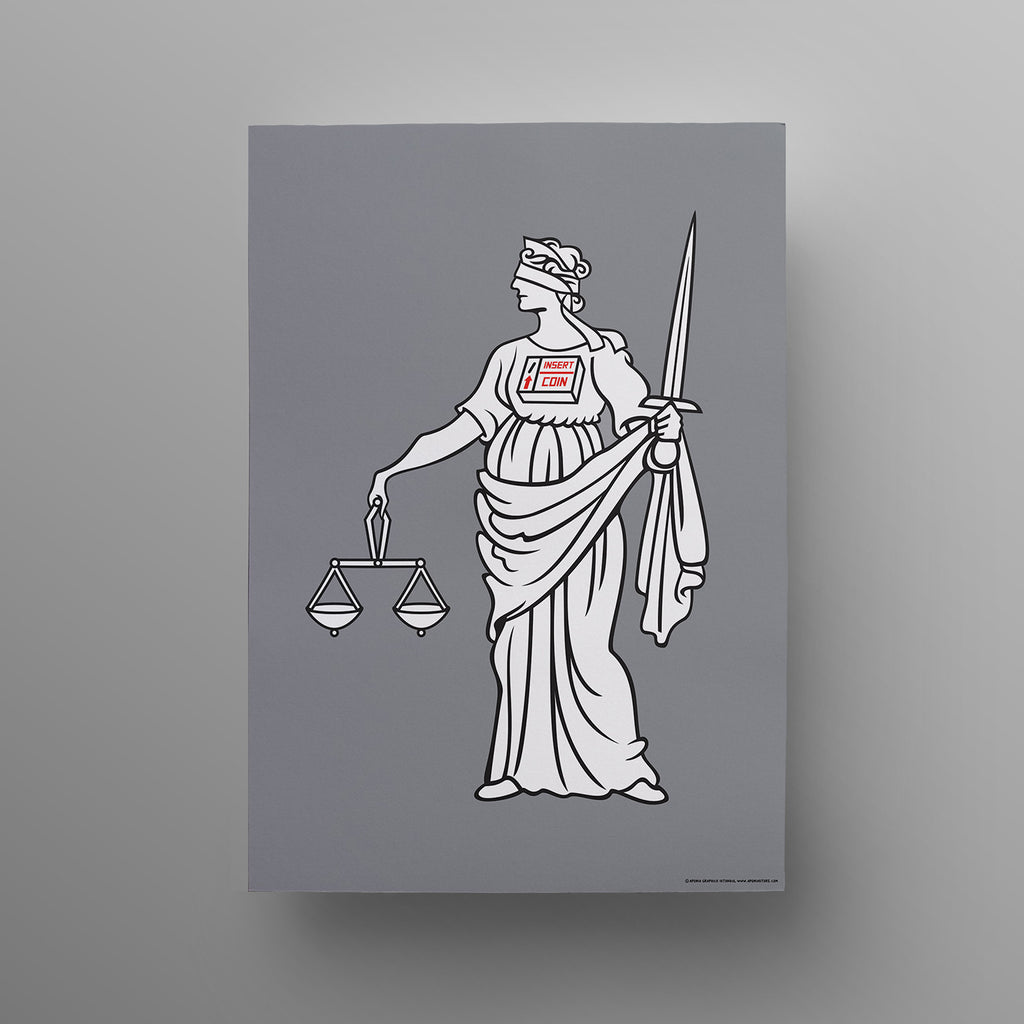 Aponia Lady Justice Poster