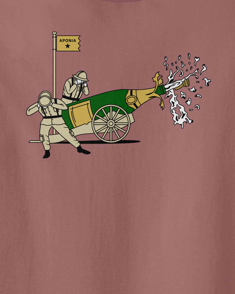 The graphic of big battle of Champagne used as cannon