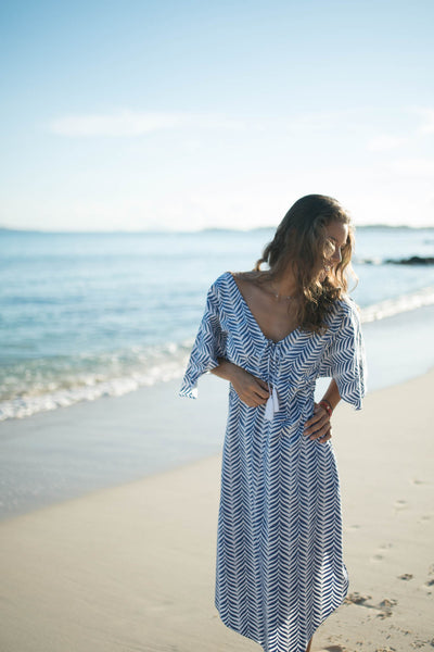 Honor Beach Full Length Kaftan