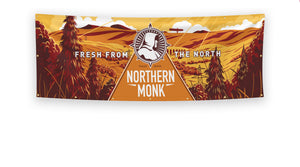 Product image of Northern Monk custom vinyl banner