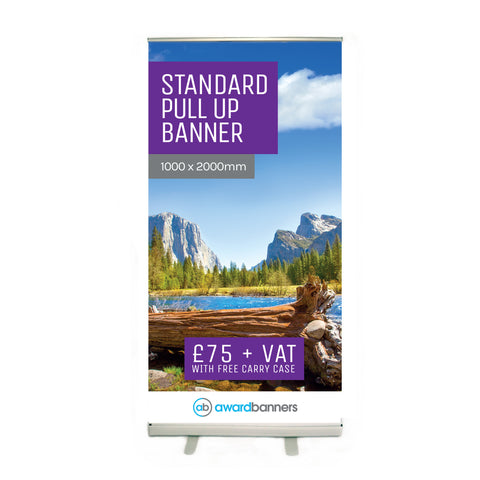 Standard Pull Up Banner - 1000mm Wide