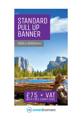 Replacement Graphic - 1000mm wide Pull Up Banner
