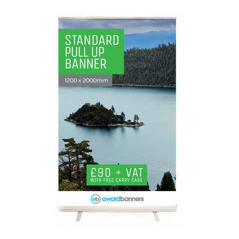 Standard Pull Up Banner - 1200mm Wide