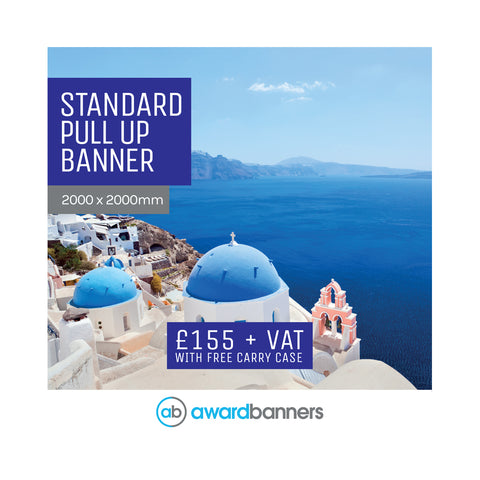 Replacement Graphic - 2000mm wide Pull Up Banner