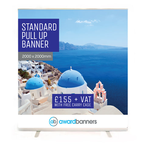 Standard Pull Up Banner - 2000mm Wide