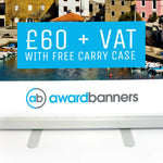 Standard Pull Up Banner - 800mm Wide