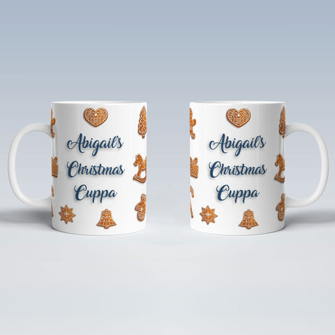 Product image of Christmas Cuppa Personalised Christmas Mug