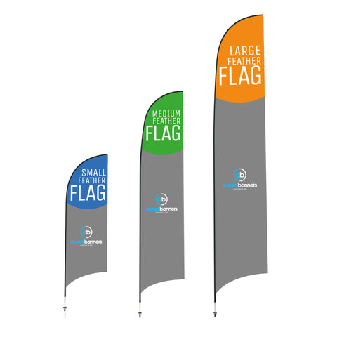 Award Banners Feather Wind Flags