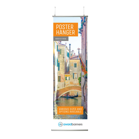 Poster Hanger - With Printed Graphic