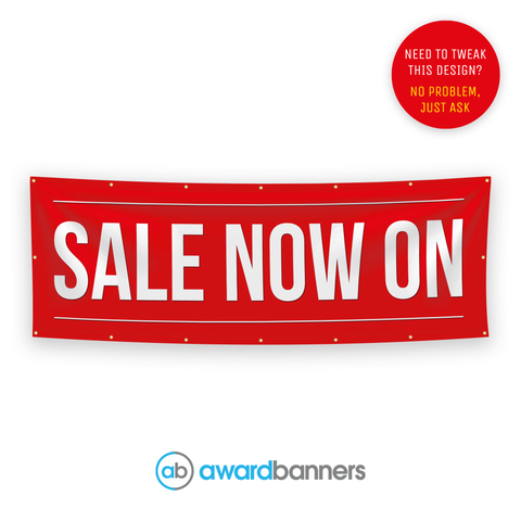 Sale Now On Pre-Designed Banner - AB106