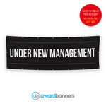 Under New Management Pre-Designed Banner - AB111
