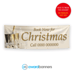 Book Now For Christmas Pre-Designed Banner - AB121