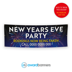 New Years Eve Party Pre-Designed Banner - AB226