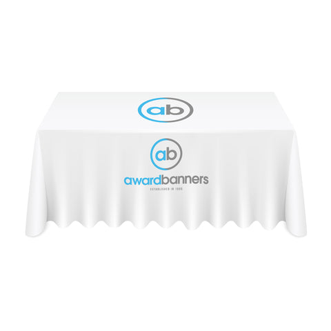 Full Colour Digitally Printed Display Polyester Tablecloth