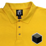 yellow 10XL polo t-shirt detail