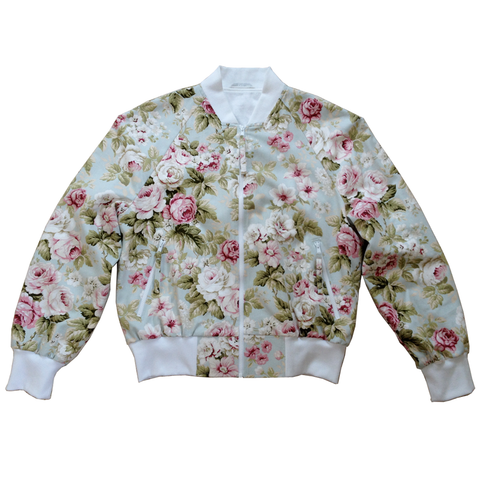 studio_805 chintz vented bomber front view