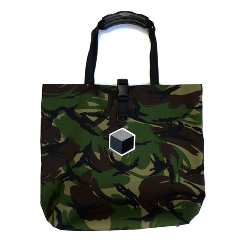 studio_805 DPM camouflage tote bag front view