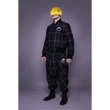 studio_805 tartan drop crotch joggers look book image