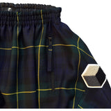 studio_805 tartan drop crotch joggers pocket detail