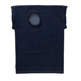 STUDIO_805 SAMPLE raw indigo denim twisted T-shirt flat front