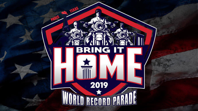 New World Record  Total Number of Harley Davidson's in a Parade October 5th 2019
