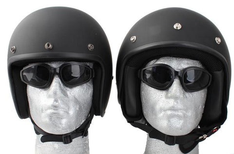 Low Profile DOT Approved Open Face Helmet