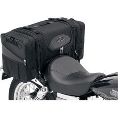 Saddlemen TS3200DE Deluxe Cruiser Tail Bag, Motorcycle Accessories - Fat Skeleton UK
