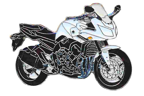 Yamaha White Fazer 8, Accessories - Fat Skeleton UK