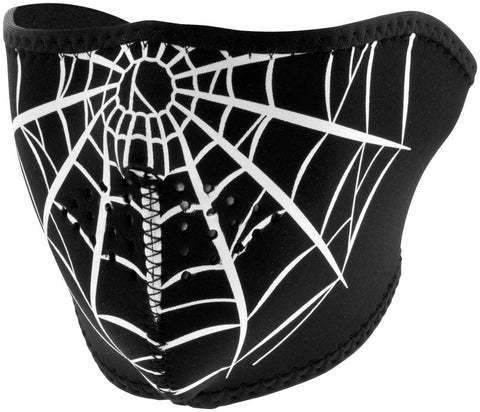Spiders Web Half Face Mask