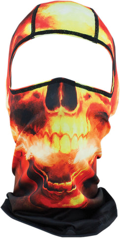 Zan Hades Ghost Rider Under Helmet Balacalava, Face Masks - Fat Skeleton UK