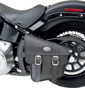 All American Rider Swing Arm Bag for Softails - Left Hand Side *, Motorcycle Accessories - Fat Skeleton UK