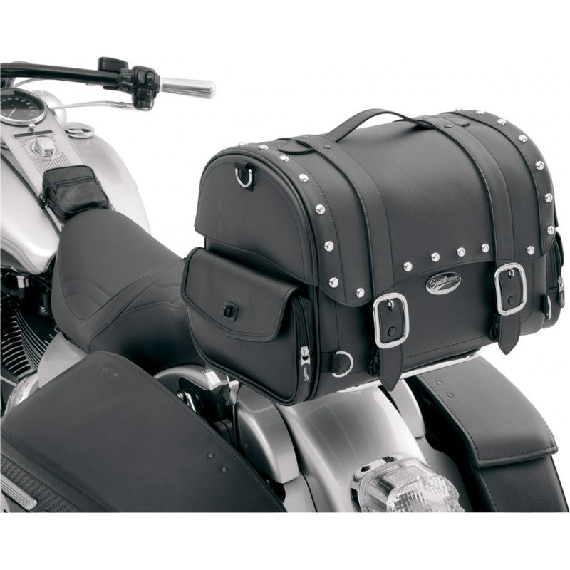 Saddlemen Express Desperado™ Sissy Bar Bag, Motorcycle Accessories - Fat Skeleton UK