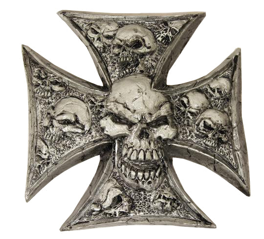 Lethal Threat Iron Cross Skulls 3D Decal